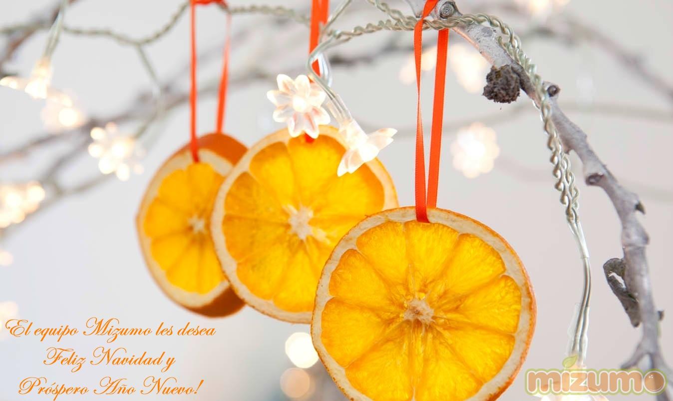 El equipo Mizumo les desea  Felices Fiestas