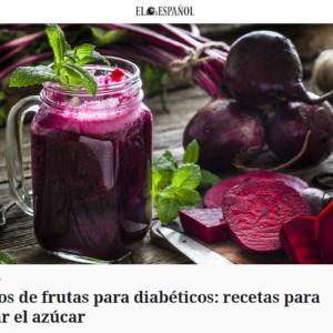 9 zumos de frutas para diabéticos