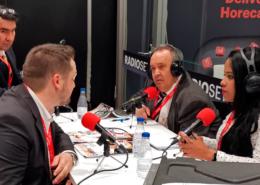 ENTREVISTA DE RADIO DE CEO JOSE LUIS ESPINOSA EN LA FERIA HIP 2020 MADRID