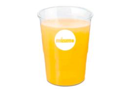 Plastic cup Mizumo