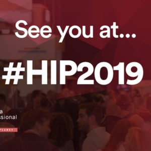 SEE YOU AT HIP FAIR 2019
