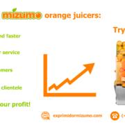Why MIZUMO orange juicers