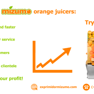 Why MIZUMO orange juicers